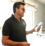 Michael Moloney (Extreme Makeover) with OGO Oxygen Canister