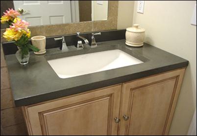 Concrete Bathroom Sink Cement