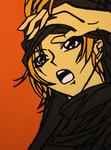 anime brown cape