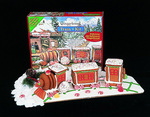 3 Car Train Gingerbread Kit