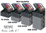 Mini Quik Flik DVD rental / vending kiosk