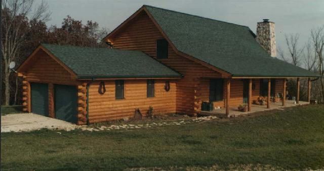 Afton log homes releases affordable log home plans for Affordable log home plans