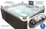 Hot Tub Spa with Stereo and TV