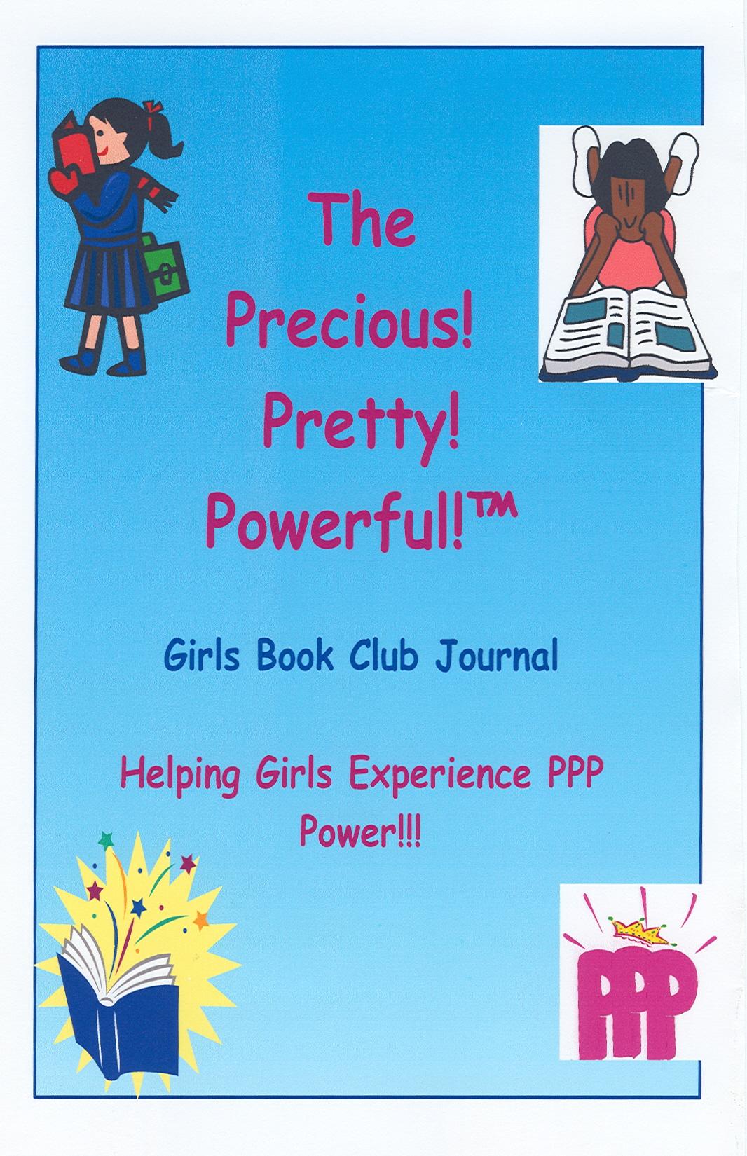 Pretty Book Cover Generator : The precious pretty powerful girls book club helps