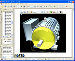 PDF3D Industrial Motor Assembly