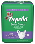 Depend Belted Shields