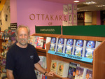 Jasper Cooper in Ottakars bookshop