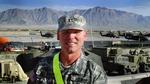 Chaplain (Maj.) Keith Kilgore in Afghanistan