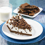 Edwards Creme Pie made with Nestle Crunch