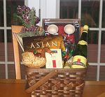 Rare Finds Asian Theme Basket