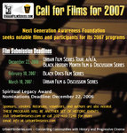 2007 Call For Films