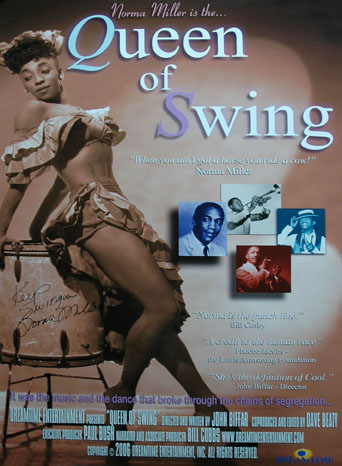 The determination of the swing queen