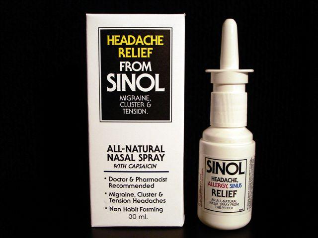 Otc migraine nasal spray
