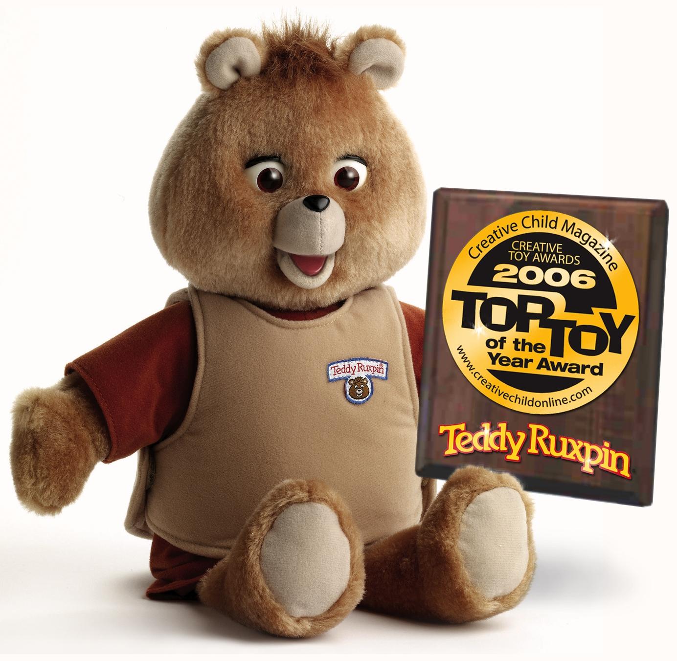 fresh from an extended hibernation  teddy ruxpin earns top