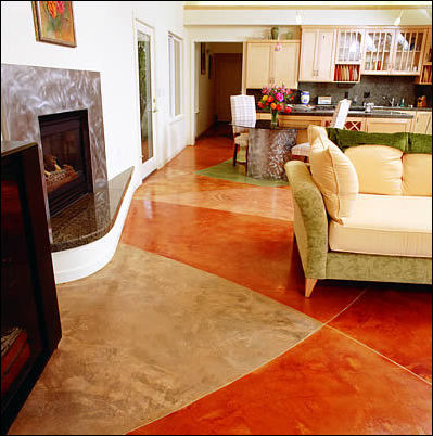 Interior floors photo gallery exposes the innovative for How to clean scored concrete floors