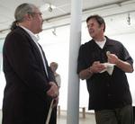 Ron Teachworth and Bruce Campbell