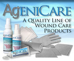 AgeniCare Antimicrobial Silver Plated Nylon Wound/Burn dressings