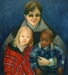 Amy and Her Children Maya and Calder