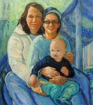 Carolyn, Lea and Their Son Eli