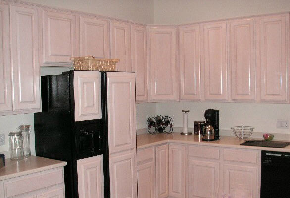 Kitchen Cabinets, Cabinet Refinishing, Cabinet Refacing, Facing, and