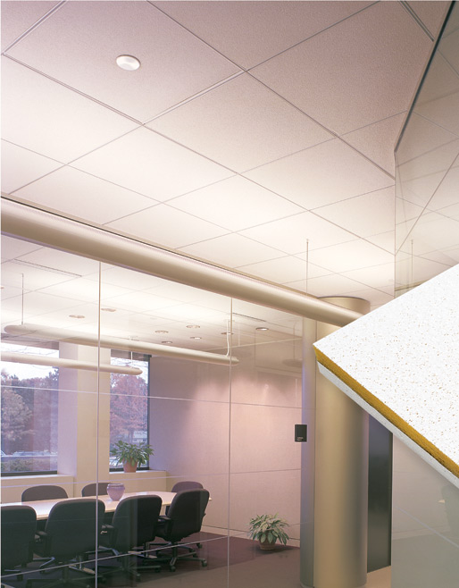 Residential acoustic ceiling tiles