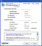 The Status Window Screen