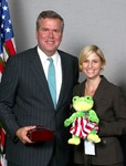 Jeb Bush and Amy Sellers CELEBRATE Autism Project