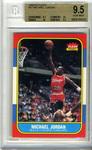 1986 Fleer Michael Jordan Card
