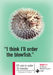 blowfish ad - St. Mary's QuickCare