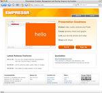 Empressr Home Page
