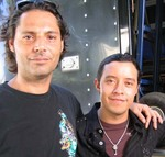 Director Luis Aira and Actor Efren Ramirez
