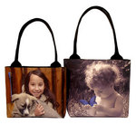 Custom Photo Totes by Bagettes