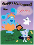 Blue's Clues Halloween card from Cards4Kids.com