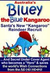 Bluey Santa's New Recruit - flat image of ebook cover