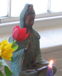 Quan Yin at the Insight Meditation Center of Pioneer Valley