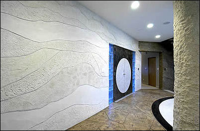 Online Photo Gallery Showcases Decorative Concrete Uses On Vertical  Surfaces In Your Home Or Office