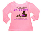 Crib Rock Couture girls thermal in Sugar & Spice