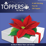 Toppers by Tarta Poinsettia Packaging
