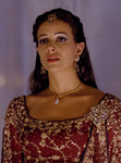 Tiffany Dupont as Queen Esther in Gener8xion Entertainment's One Night With the King