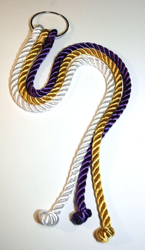 The god s knot cord of three strands is a beautifully hand crafted