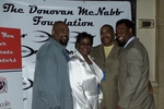 The McNabb Family: Sean, Wilma, Sam and Donovan