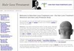 New Hair Loss Treatment Website