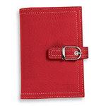 Red Malibu Leather Binder
