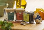 Artisan Salt products - glass