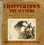 "CD cover for the Original Motion Picture Soundtrack for the award-winning biker documentary ""Choppertown: the Sinners"""