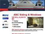 Sample Website Design for Siding & Windows Contractor