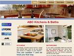 Sample Website Design for Kitchens & Baths Contractor