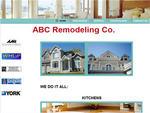 Sample Website Design for a Remodeler