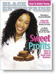"Aundrea Lacy and her popular brownies grace Nov. 2006 ""Black Enterprise"" cover"