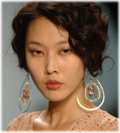 Eireen Earrings New York Fashion Week